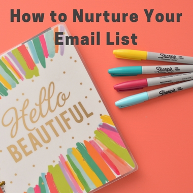 How to Nurture Your Email List- Interview with Meera Kothand