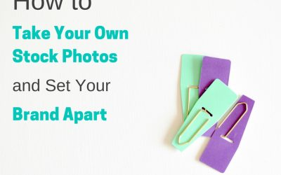 How to Take Your Own Stock Photos to Set Your Brand Apart