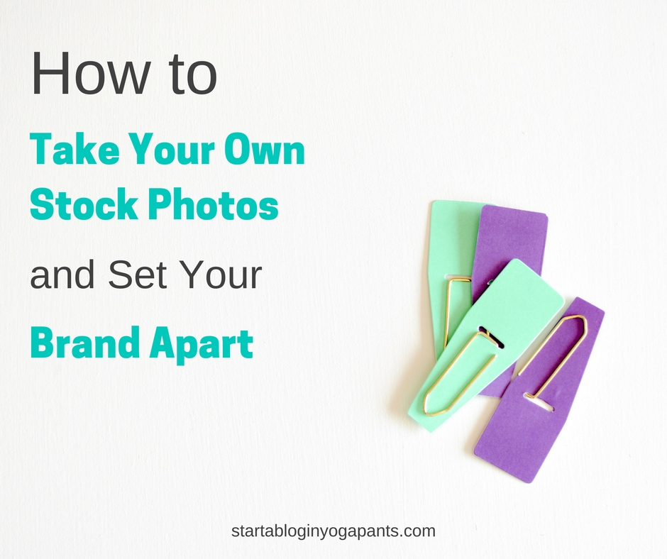 How to take your own stock photos